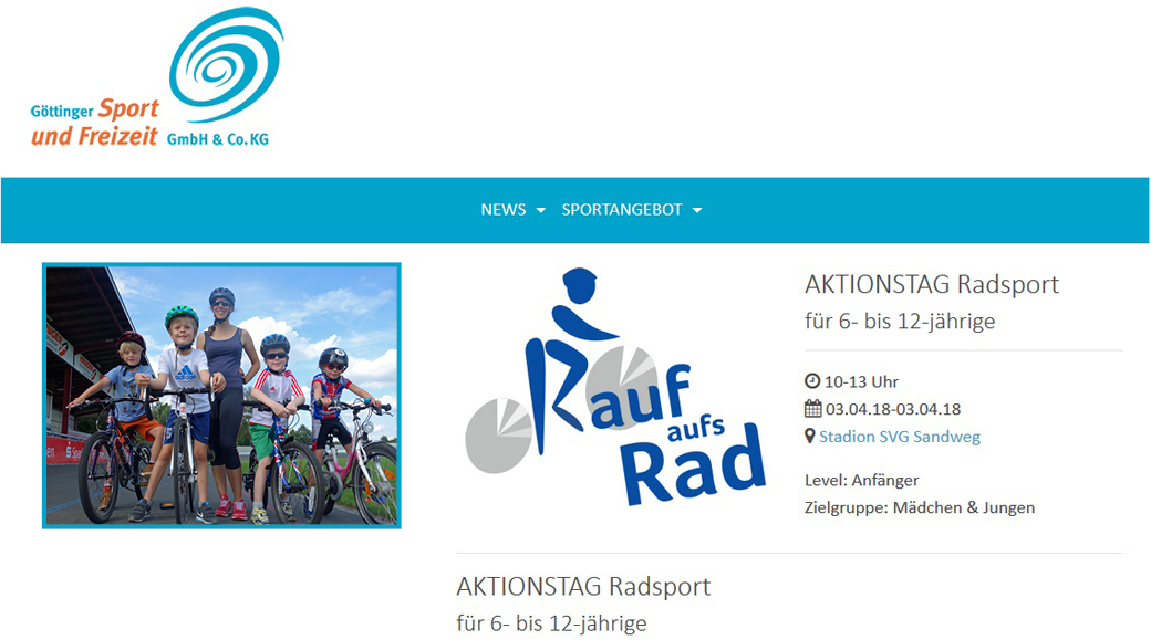 Aktionstag am 3. April 2018